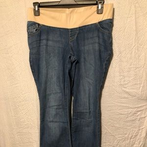 MATERNITY JEANS BY OLD NAVY SIZE 10